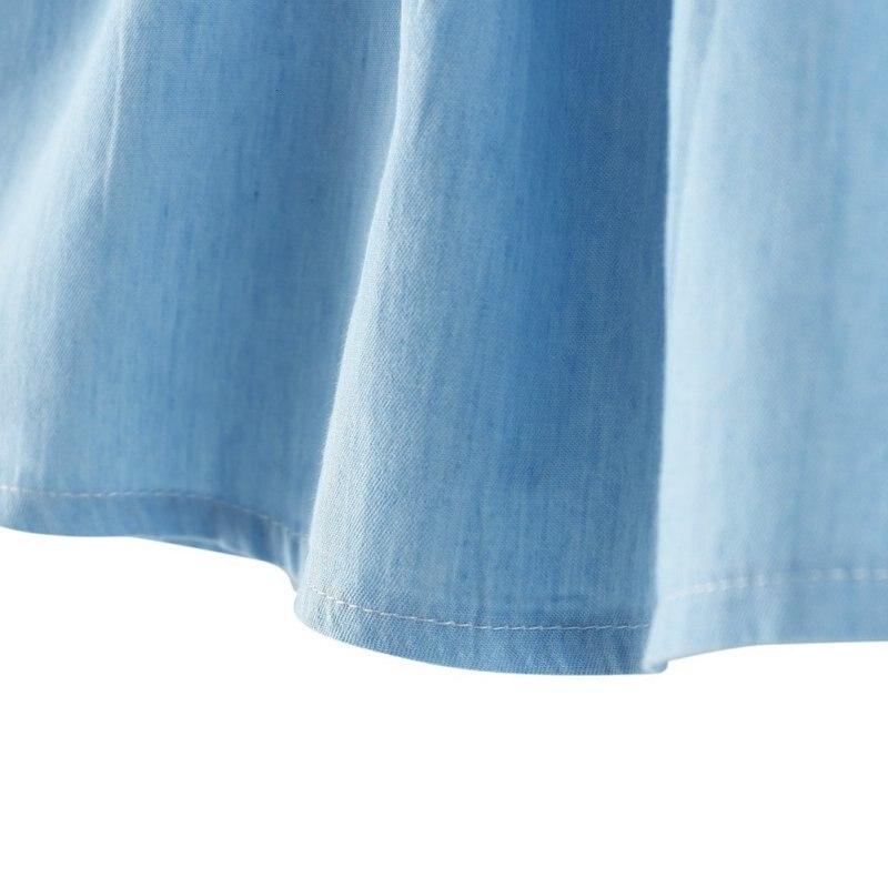 Hc22995dbf2434379a68d8f16a51811fd7 Girls Dress 2018 Summer Explosion Solid Color Denim Dress Cartoon Polka Dot Bow Cartoon Bunny Satchel Korean Baby Cute Dress