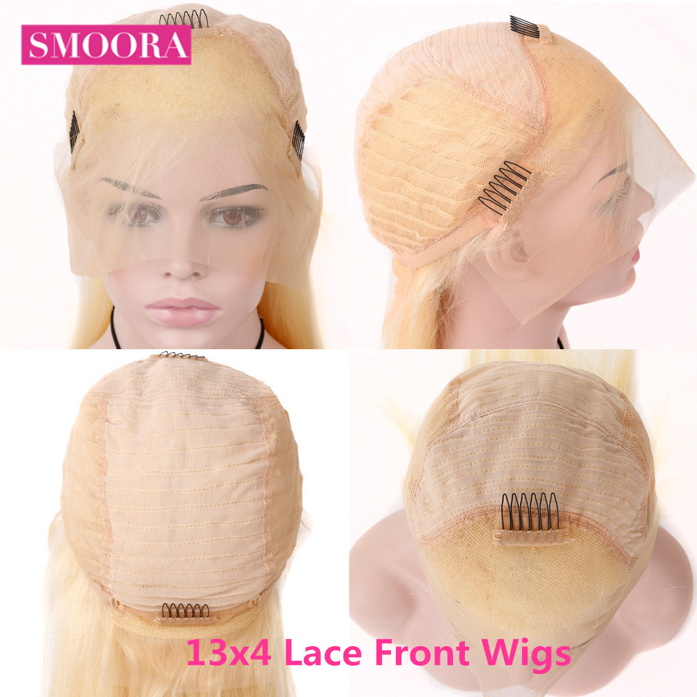 613 Lace Front Honey Blonde Wig  Body Wave Wigs  150% Density  Transparent 13x4 Lace Front Wig 2