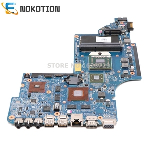 Image 3 - NOKOTION laptop motherboard for HP DV6 DV6 6000 series 640454 001 Socket s1 free cpu 1gb graphics full test