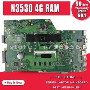 Image 1 - X751MA Ordinateur Portable carte mère N3530 4 noyaux rev2.0 pour For Asus k751M K751MA R752M R752MA X751MD Test carte mère carte mère test 100% ok