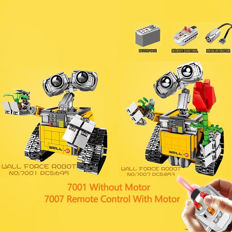 Legoing Creator WALL E Idea Robot Action Figures Compatible Legoings Technic Robot Building Blocks Model DIY Children Toy WEll E