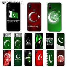 NBDRUICAI Pakistan Flag Banner Moon Star For Soft Silicone Phone Case for Xiaomi 8 9 se 5X Redmi 6pro 6A 4X 7 5plus note5 7 6pro