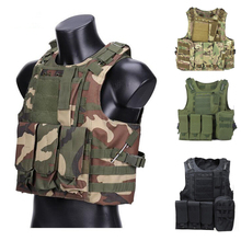 цены Tactical Equipment Hunting Molle Vest Airsoft Paintball Military Army Vest Assault Vest Training Combat Armor Vest