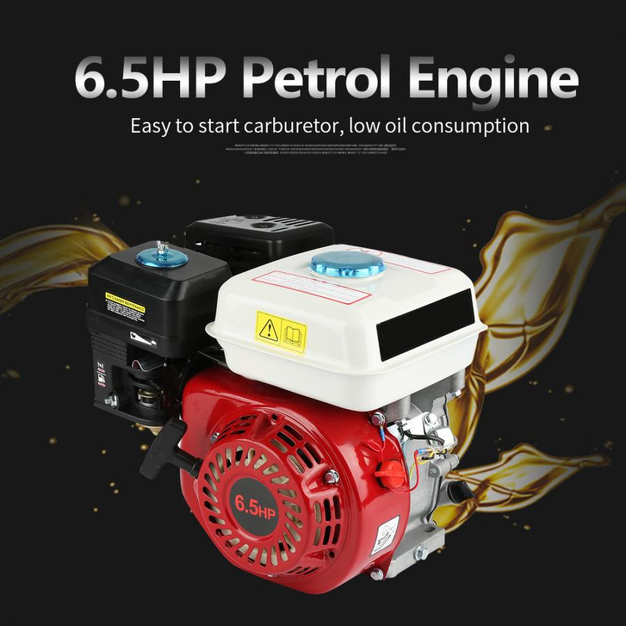 Pull-Start Replacement Gasoline Engine Cooled 168f Ohv 4-Stroke 196cc Single-Cylinder