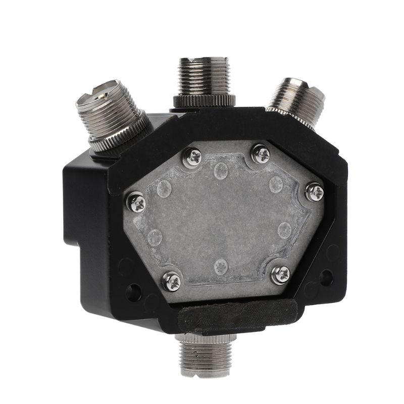CX-310 C0-301 Heavy Duty Wideband 3 Way Adapter Coaxial Switches With Connectors Electronic Accessories J6PB