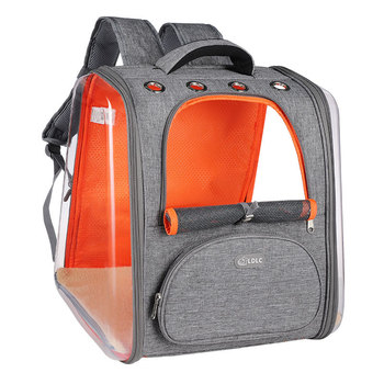 2020 Designer Cat Carriers for Medium Cats Innovative Traveler Mesh Backpack Pet Carriers for Cat and Dogs Foldable Backpack mesh panel iridescence backpack