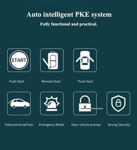 Image 2 - Universele 12V Auto Motor Ontsteking Start Stop Knop Systeem Starline Auto Alarm Remote Starter Suv Pek Keyless Entry systeem