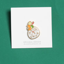 New Exquisite Le Petit Prince Brooches for Women B-612 The Little Prince Planet Fox Rose Classical Fairy Tale Enamel Pin Jewelry(China)