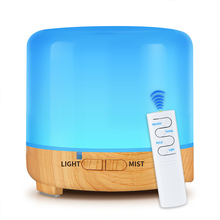 OTOKU 200ml USB Electric Aroma Air Diffuser Mist Maker  Ultrasonic Cool Humidifier with 7 Soothing Color LED Changing Lights