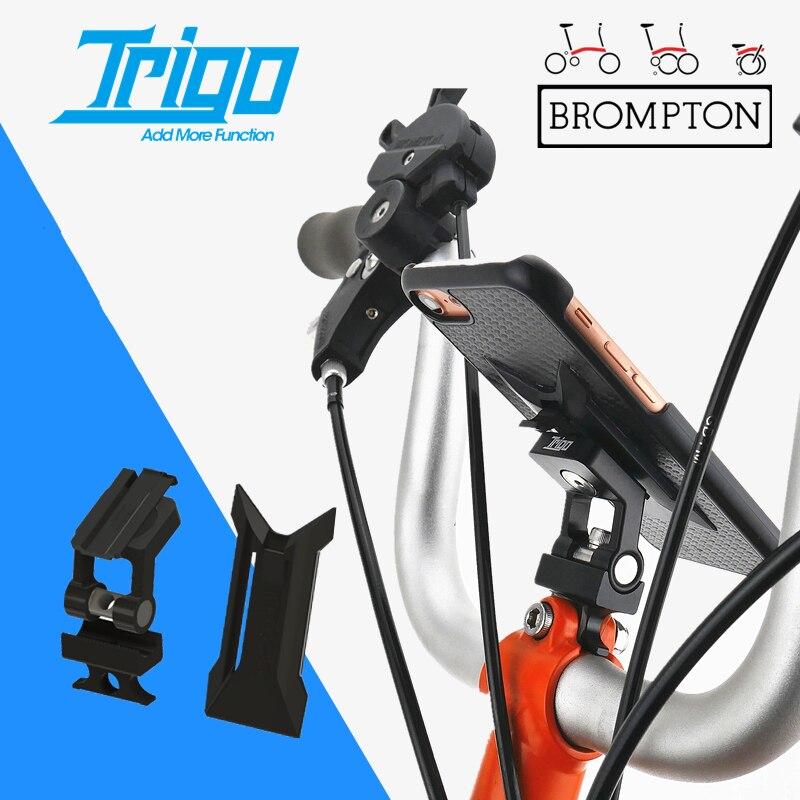 Trigo trp1811 bicicleta computador montar suporte do telefone para bicicleta dobrável