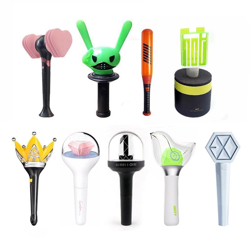 Korea LED Lightstick Light Stick Concert Glow Lamp Fluorescent Luminous Support Flashlight Glow Lamp Concert Fan Gift Collection