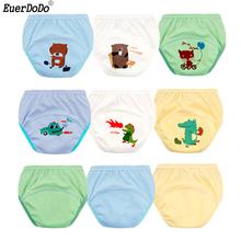 Baby Training Pants Cotton Cartoon Cute Toddler Underwear Washable Little Bloomz Toddler Plastic Pants 1 2 3 4Y Reusable Briefs tanie tanio EuerDoDo Aktywny Unisex Pasuje prawda na wymiar weź swój normalny rozmiar 80CM 12KG 90CM 13KG 100CM 15KG 110CM 19KG 120CM 23KG