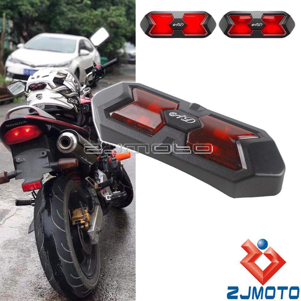 Pare-brise moto pour Yamaha MT-07 2013-2015 Rouge