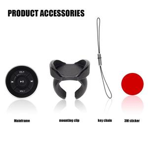 Image 4 - Bluetooth Car Remote Controller Classic Colors and Simple Durable Design Steering Wheel Media Shutter for iPhone Android