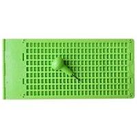 4 linhas 28 células verde prático visão ferramenta de cuidados acessório braille escrita ardósia portátil com stylus escola prática aprendizagem|Prancheta| |  -