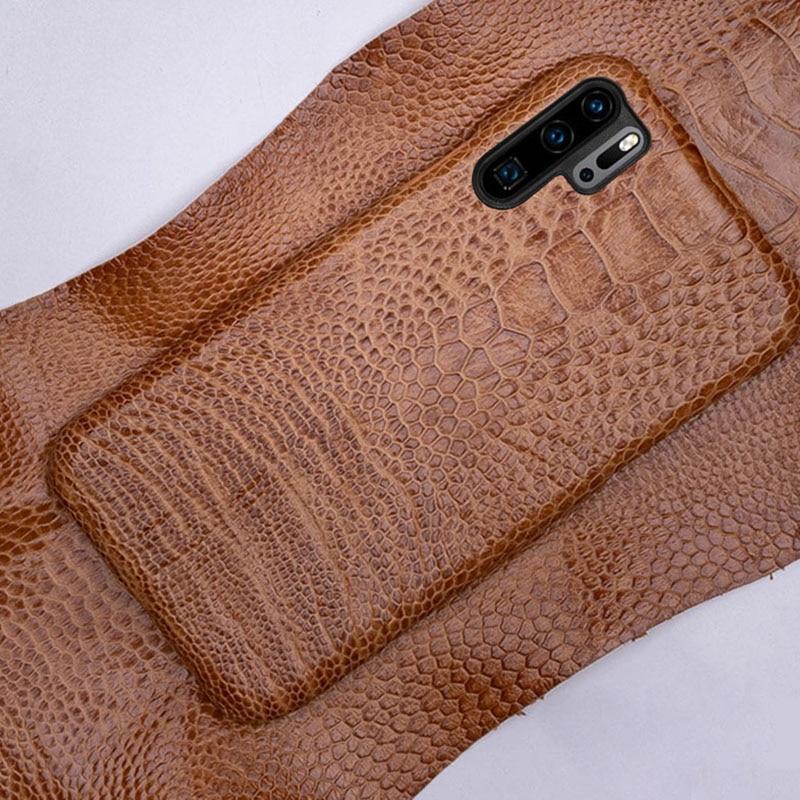 Телефон чехлы для huawei P10 P20 P30 Lite Коврики 9 10 20 lite Pro Чехол страуса стопы текстура чехол для Honor 8X9 10 V20 P Smart Case - 4