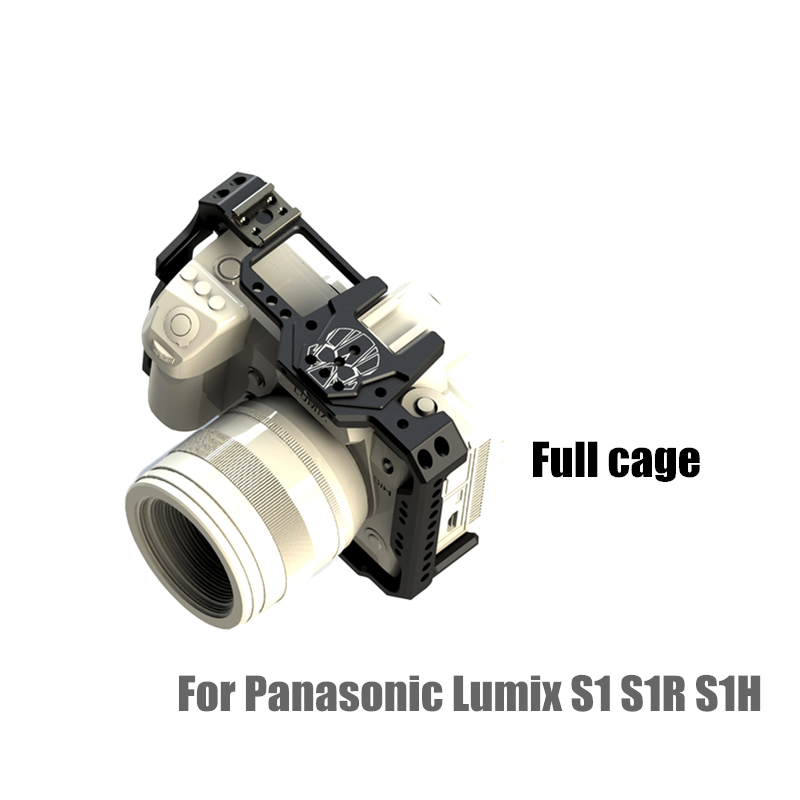 Image 3 - HONTOO S1H 一眼レフカメラ用パナソニック Lumix S1 S1R S1H 木製ハンドルトップハンドル 15  ミリメートルベースプレート    グループ上の 家電製品 からの フォトスタジオ用アクセサリー の中