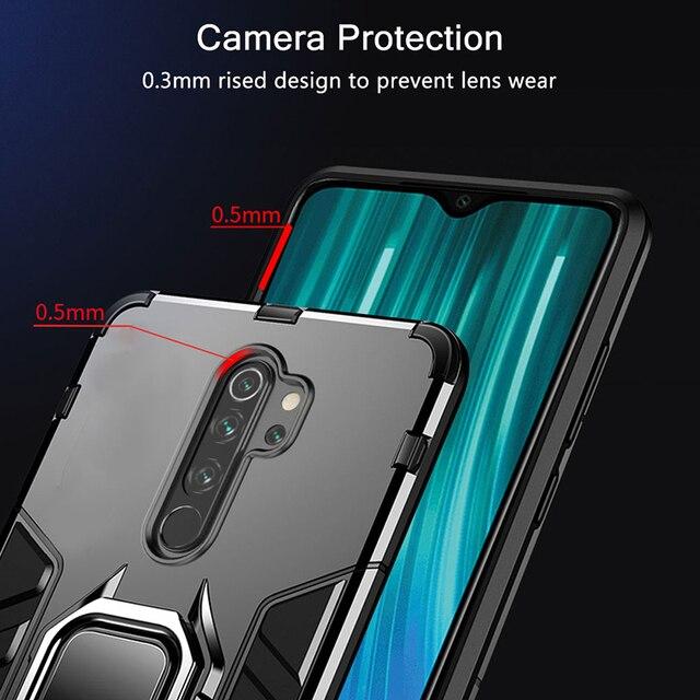 KEYSION Shockproof Case for Redmi Note 8 Pro 9s 8 8A 7 7A 8T K30 K20 Back Phone Cover for Xiaomi Mi 9T A2 A3 mi10 9 SE mi 9 lite