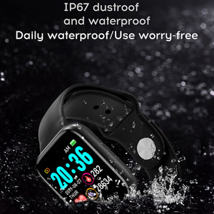 Image 2 - ساعة ذكية الرجال 1.3 اللون شاشة تعمل باللمس عداد الخطى جهاز تعقب للياقة البدنية ساعة Ip67 مقاوم للماء الرياضة Smartwatch النساء ل أندرويد IOS