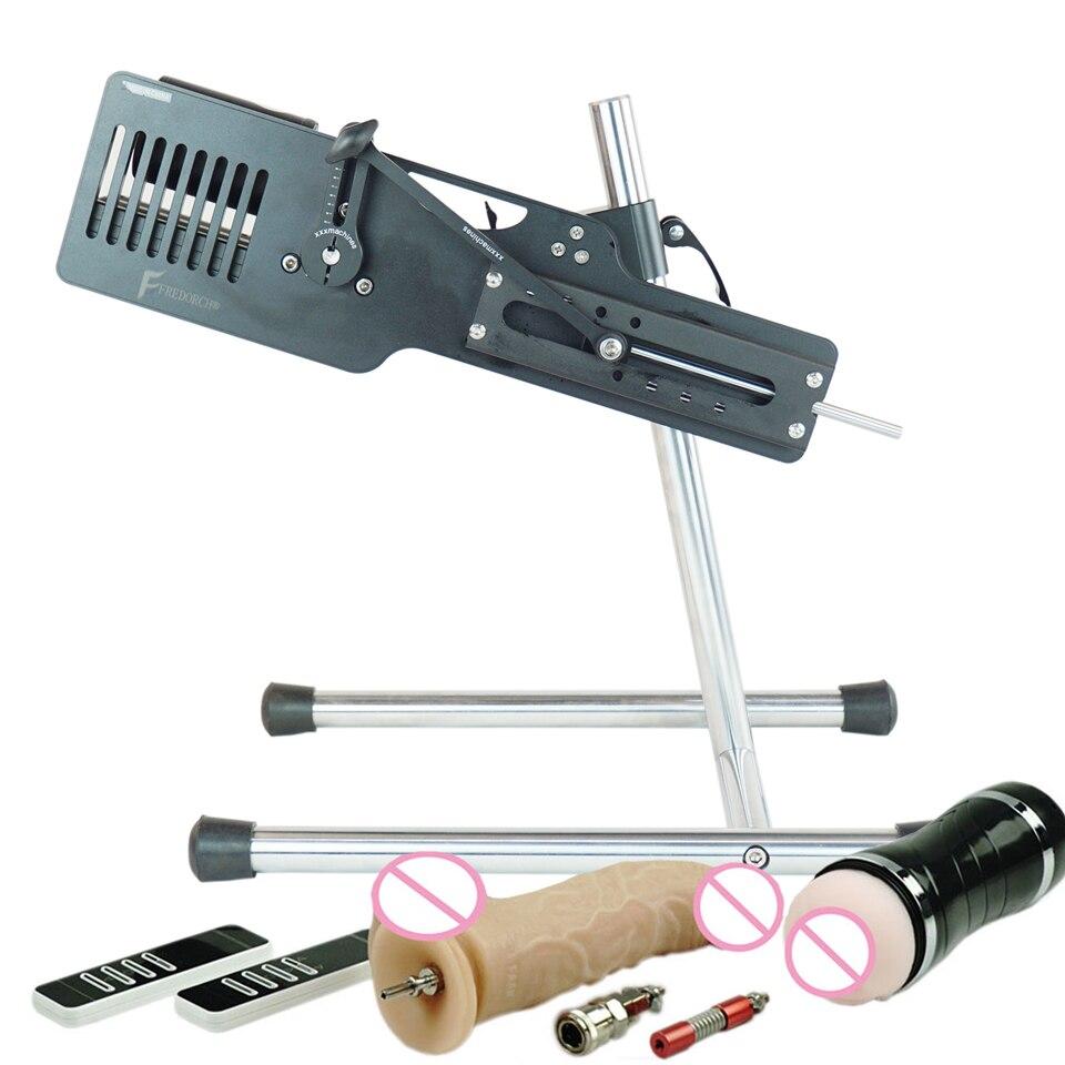 FREDORCH Premium Quiet Sex Machine Gun With Dildo Vagina Cup Fuckmachine For Women And Man Female Masturbator Sex Adult Toys