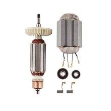 AC220V-240V Armature Rotor Stator for MAKITA Angle Grinder 9556 9557 9558 9556NB 9556HN 9557NB 9557HN 9558NB 9558HN Tool Parts