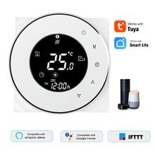 Термостат для нагрева воды, умный WiFi цифровой регулятор температуры, голосовое управление, Совместимость с Amazon Echo/Google Home/IFTTT