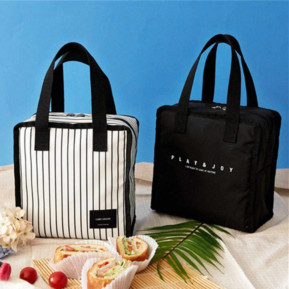 Lunch Bag Tote Bag Fresh Insulation Cold Bales Thermal Lunch Bag Tote Bag Lunch Organizer Lunch Holder Lunch Storage Container