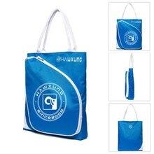Travel Portable Tennis Scratch Resistant Towels Zipper Waterproof Outdoor Sports Badminton Racquet Bags Nylon Handbag Tote
