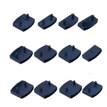 Sofa-Bed Replacement Slat Plastic Black Size-9mmx53mm 10PCS Holders Centre-End-Caps Inner-Rubber-Sleeve