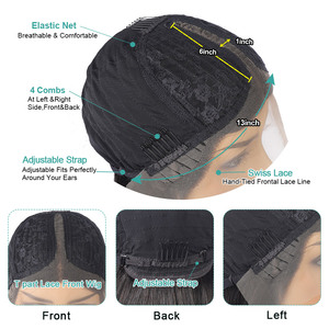 Image 5 - Transparent Lace Wigs Straight Lace Front Wig 4X4 Closure Wig Human Hair Wigs For Women Brazilian Hair Wigs 250 Density Lace Wig