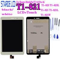 Lcd para huawei mediapad t1 8.0 pro 4g T1-821L T1-821W T1-823L T1-821 S8-701 display lcd painel da tela de toque digitador assembléia