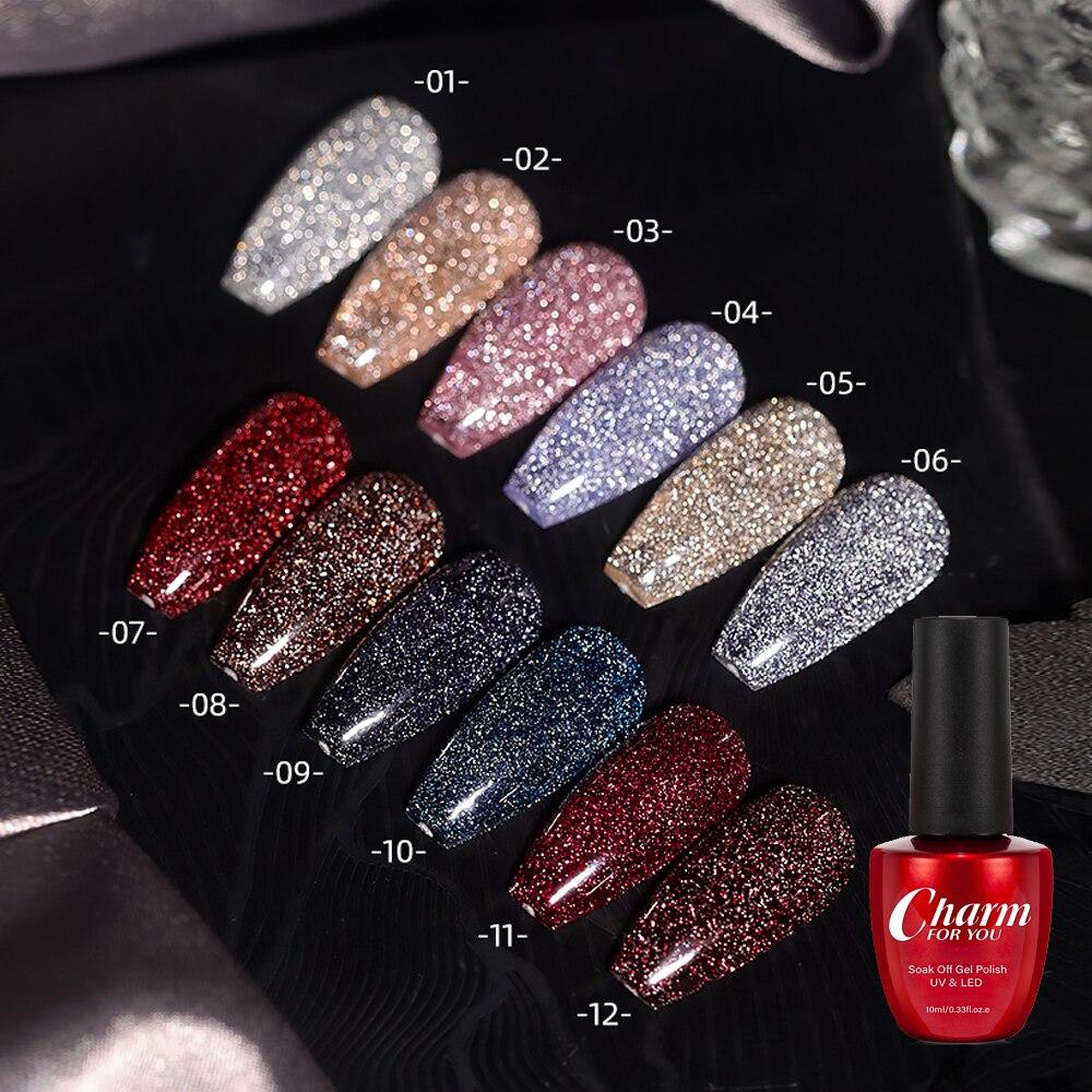 10 мл взрывостойкий блеск клей для алмазов 2021 новый дизайн ногтей кристалл алмаз пудра гель лак для ногтей маникюр декоративный Гель Инструм...