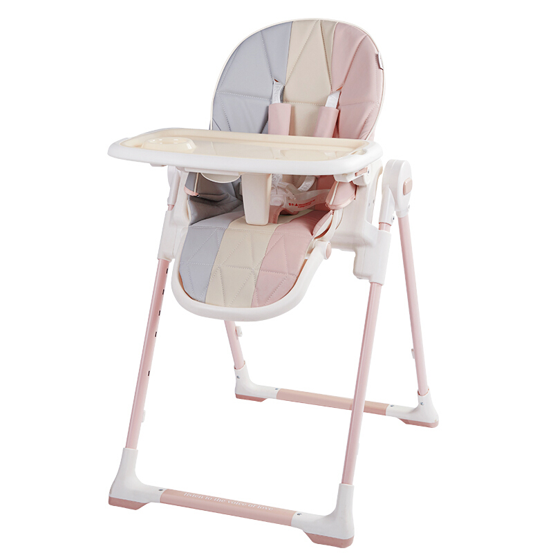 High Chair Cushion Booster Mats Waterproof Oxford Protector Kids Foldable Portable Polka Dot for Baby Seat Cover Feeding Outdoor Stroller Universal