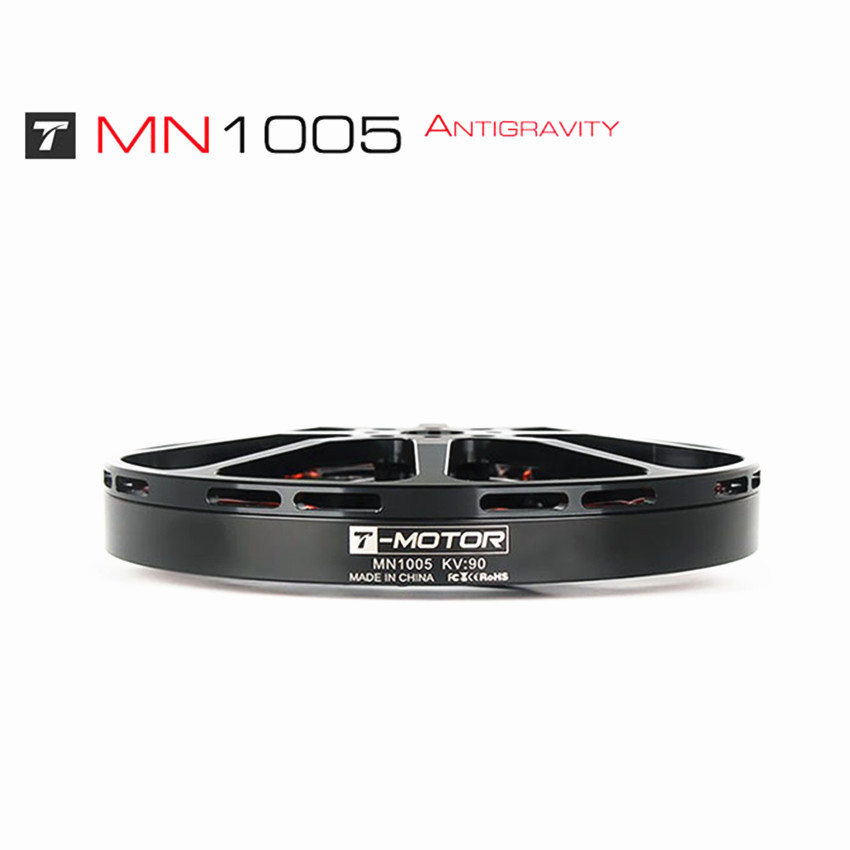 T-<font><b>Motor</b></font> MN1005 Antigravity high efficiency outer rotor <font><b>brushless</b></font> <font><b>motor</b></font> multi-rotor disc 3-phase DC <font><b>90kv</b></font> <font><b>brushless</b></font> <font><b>motor</b></font> RC drone image