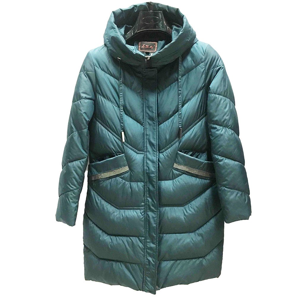 New Spring Winter Women Fashion Down Long Hoodie Down Parkas Cotton Jackets Thick Female Long Warm Coat Clothing