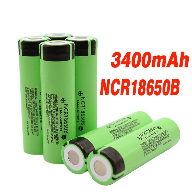 100% новый Оригинальный NCR18650B 3,7 v 3400mah 18650 литиевая аккумуляторная батарея для фонариков Перезаряжаемые батареи      АлиЭкспресс