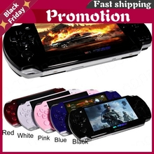 Built-in 5000 games Support AV Out 8GB 4.3 Inch PMP Handheld Game Player MP3 MP4 MP5 Player Video Camera Portable Game Console