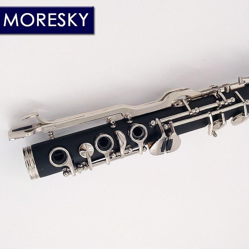 MORESKY allemand G Tune 20 clé clarinette ABS résine garçon matériel Nickel plaqué clés - 4