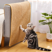 Cat Scratcher Sisal Mat Board Cat Scratch for Sharpen Nails Scraper Cats Tree Cat Toys Chair Table Sofa Mats Furniture Protector
