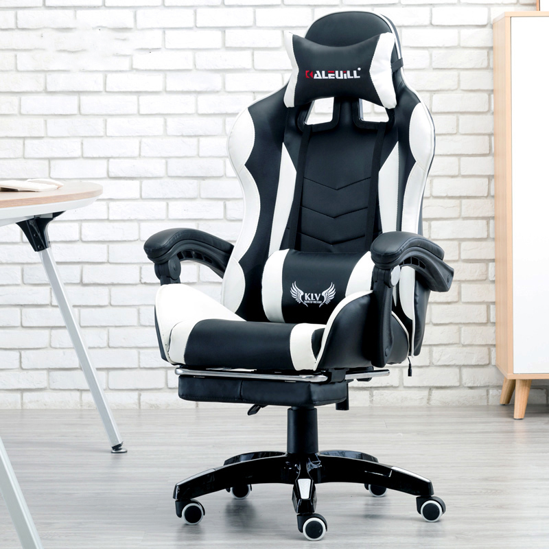 Professional Computer Chair LOL Internet Cafes Sports Racing Chair WCG...