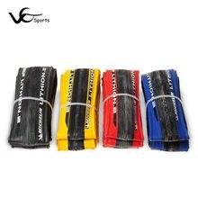 Michelin LITHION 2 oryginalne opony rowerowe drogowe 700 * 23C przebicie światła 700C niebieski czerwony czarny żółty opona rowerowa opona rowerowa 260g