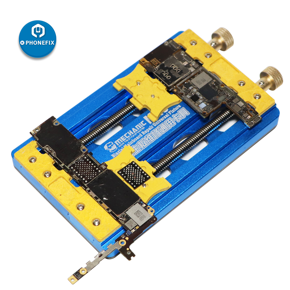 Mechanic MR6 PRO jig Fixture Universal PCB Board Soldering Repair double-Bearings Fixture for motherboard Chip Remove Glue Clamp