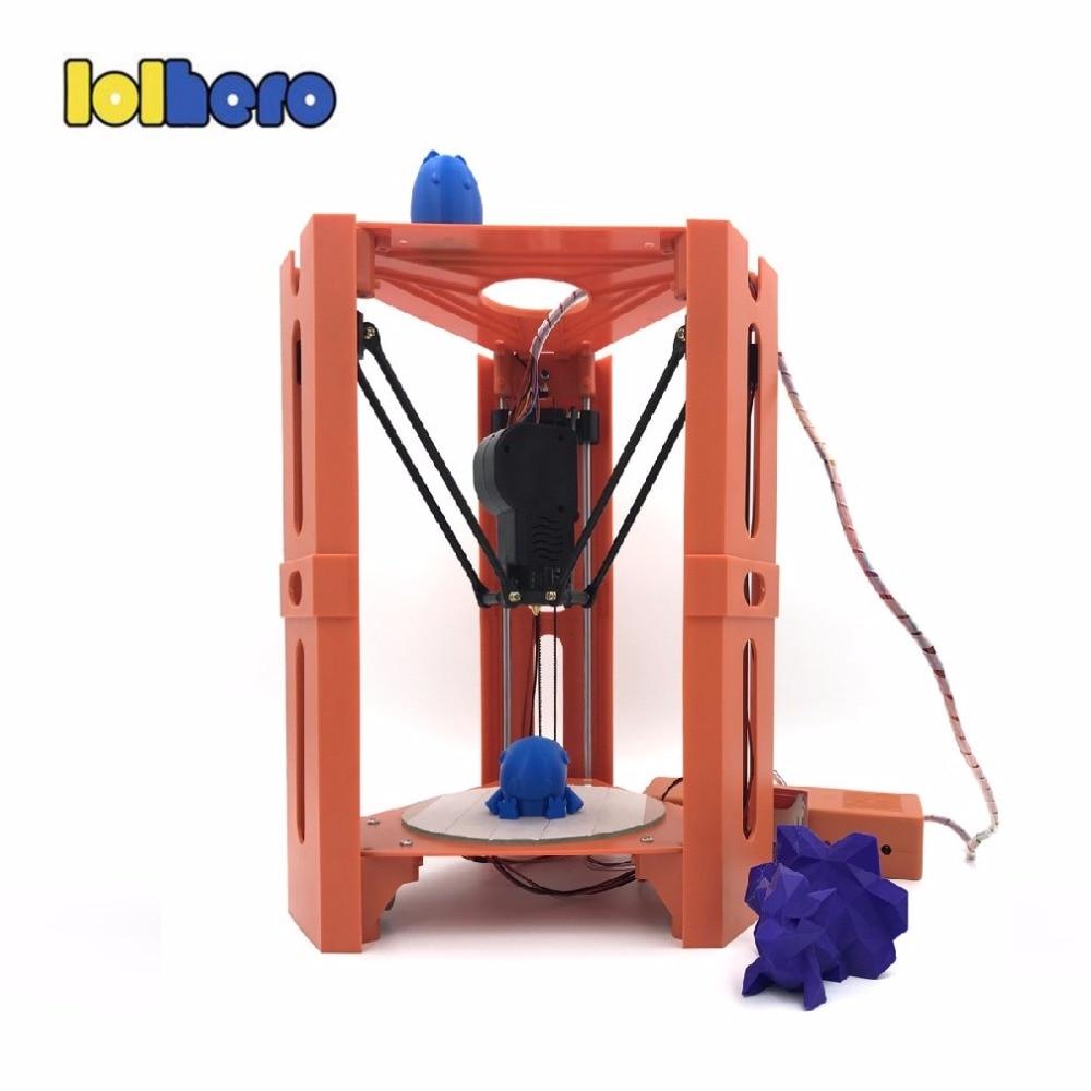 101HERO Protable 3D Printer Mini 1.75mm 0.4mm Nozzle Filament Metal Desk 3D Printer DIY Kit DV Versions Drop Shipping  (19)