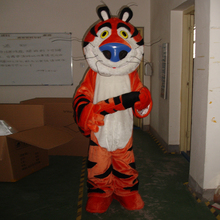 100% Real pictures !!  Tiger mascot bear tiger Bear and costume