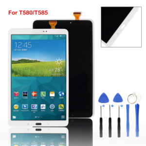 For Samsung Galaxy Tab A 10.1 SM-T580 SM-T585 Tablet LCD Display Touch Screen Digitizer Glass Panel Sensor+tools(China)