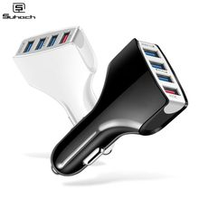 Suhach Quick Charger 3.0 Car Charger Adapter 7A QC3.0 Turbo