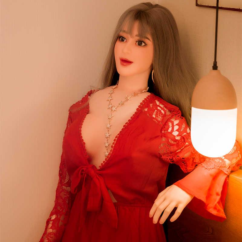 160CM Pria Masturbators Inflatable Seks Boneka Realistis Vagina Seks Anal Oral Mainan Seks untuk Pria Dewasa Produk Memek Erotis mainan