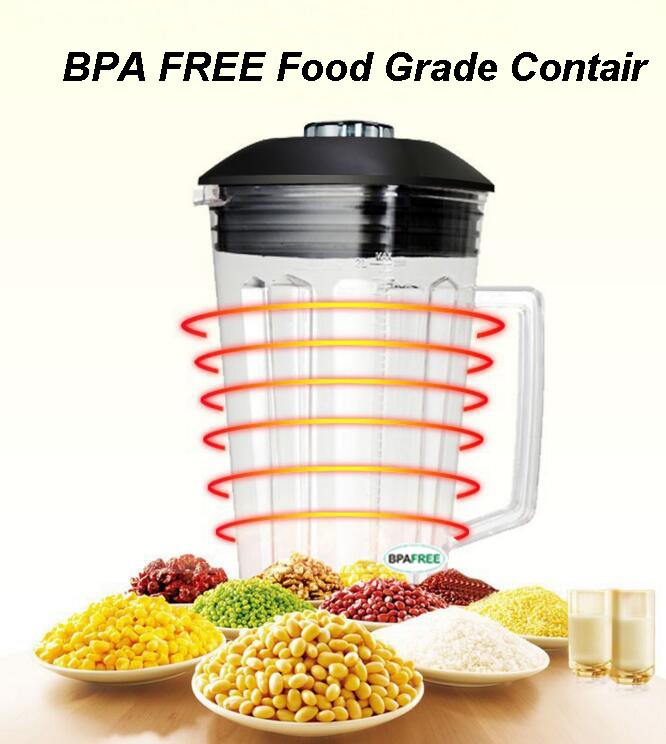 2.0 Liter G5200/888/755 Blender Jug Jar Container With Six Blades Japan Knife