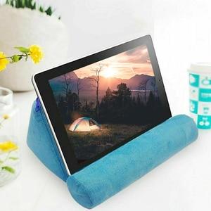 Portable Sponge Pillow Holder Tablet Stand Desktop Adjustable Support Stable Multi Angle Phone Universal Ergonomic(China)
