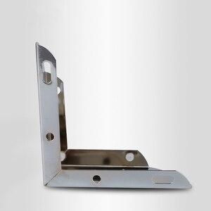 Image 3 - 4pcs 금속 가구 다리 지원 광장 테이블 소파 피트 캐비닛 머리 핀 다리 가구 발 수준 하드웨어 액세서리